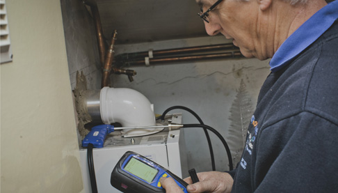 Gas servicing1