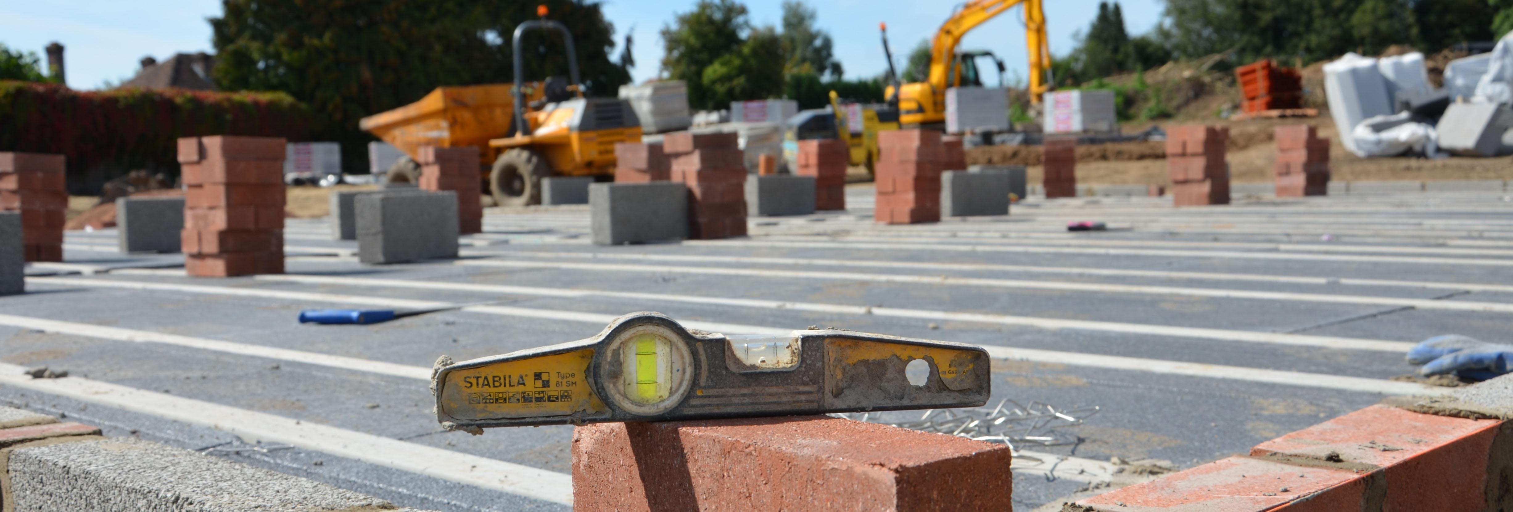 Building site - trowel