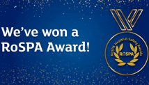 Two Rivers has won a RoSPA Gold MEdal for Health and safety
