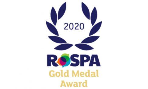 RoSPA Gold Medal Award 2020